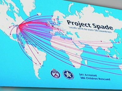 """Канадский """"проект Лопата"""" помог арестовать по всему миру 348 человек, производящих детское порно"""
