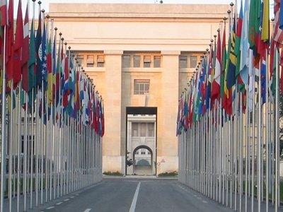Дворец Наций в Женеве