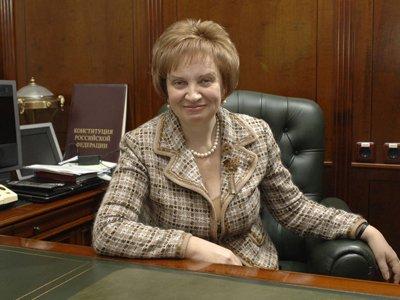 Доходы главы Мосгорсуда Ольги Егоровой растут меньшими темпами, чем у ее заместителей