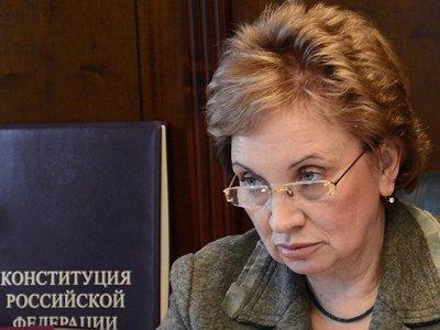 Ольга Егорова решила побороться за кресло председателя Мосгорсуда