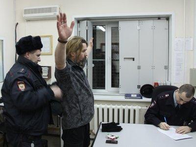 """Лидер группы """"Коррозия металла"""" задержан за погром в офисе """"Аэрофлота"""""""
