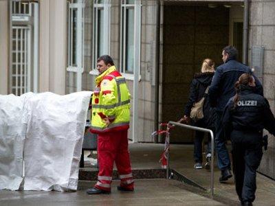 Два человека погибли в результате перестрелки в здании немецкого суда