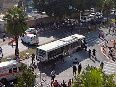 Палестинец получил 25 лет тюрьмы за взрыв автобуса в Тель-Авиве