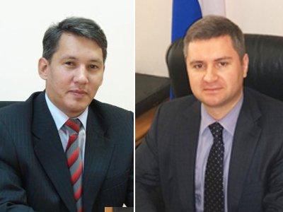 Новые руководители управлений Суддепартамента Владимир Золотарев (слева) и Андрей Рощевский