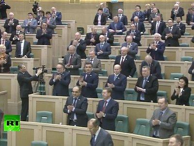 СФ утвердил присоединение Крыма к России