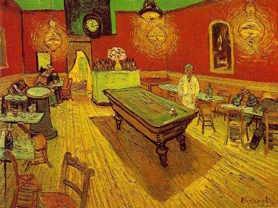 Винсент Ван Гог Ночное кафе. Арль, сентябрь 1888