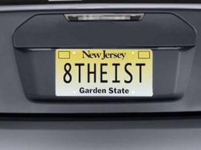 """Американка судится за право использовать слово """"атеист"""" в качестве автомобильного номера"""