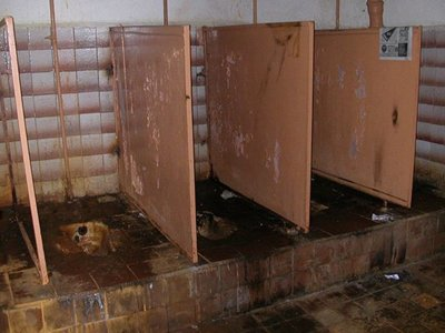 Для покрытия долга в 1,5 млн руб. приставы нашли сельский туалет