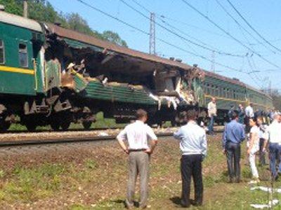 Возбуждено дело по гибели пассажиров поезда Москва – Кишинев при столкновении с украинским составом