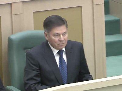 Глава Верховного суда Вячеслав Лебедев