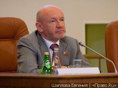 Бывший спикер Мосгордумы Платонов отказался от степени доктора юрнаук после обвинений в плагиате