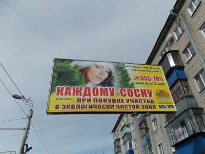 ФАС запретила рекламу с девушкой, обещавшей покупателям сосну