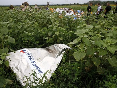Крушение Boeing-777 под Донецком