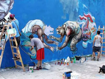 Уличные художники судятся с Терри Гиллиамом, увидев в его новом фильме свое граффити
