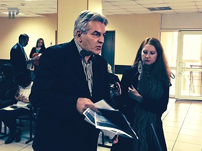 Николай Симанков в суде