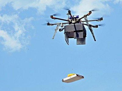 Суд оштрафовал на 50 000 руб. бизнесмена, организовавшего доставку пиццы с помощью дрона