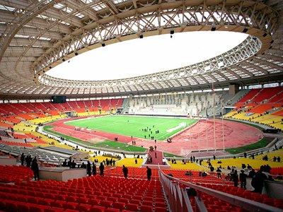 Большая спортивная арена олимпийского комплекса