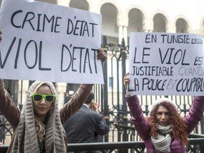 Тунисским полицейским, осужденным за изнасилование, удвоили тюремный срок