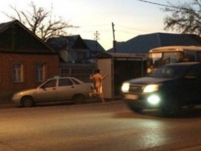 За пробежку нагишом по улице суд назначил штраф в 4000 руб.
