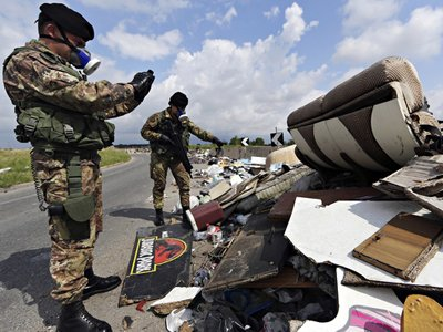 Европейский суд оштрафовал Италию на 40 млн евро за мусор
