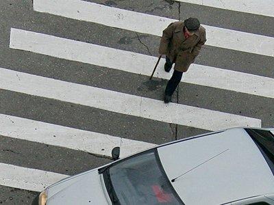 Правительство одобрило увеличение штрафа за непропуск пешеходов
