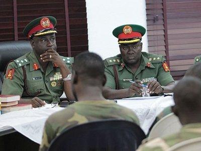 В Нигерии 54 солдата приговорены к казни за мятеж