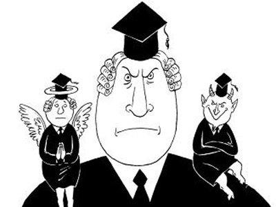 Судью наказали за поучения и угрозы свидетелям