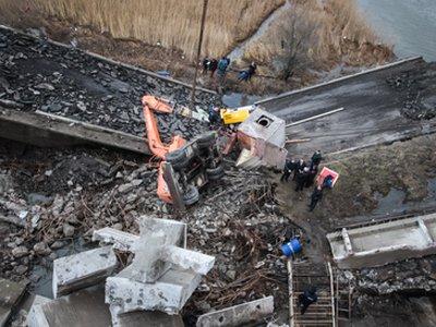 Возбуждено дело по гибели четырех сотрудников московской стройфирмы под обломками Берлинского моста