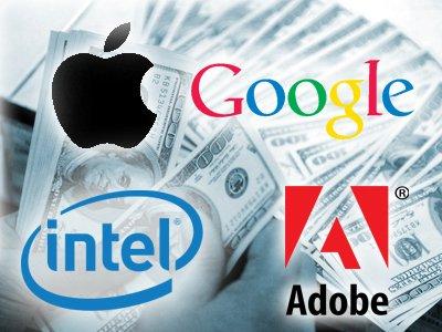 Apple, Google, Intel и Adobe выплатят своим работникам $415 млн в рамках урегулирования иска