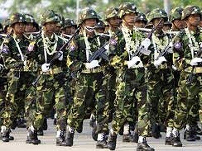 В Мьянме солдат подозревают в изнасиловании и убийстве