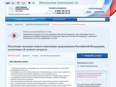 Россияне полюбили использовать портал госуслуг для проверки долгов и оформления загранпаспорта