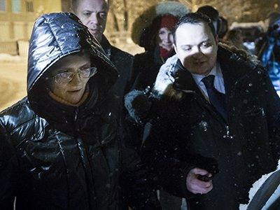 Обвинявшаяся в госизмене Светлана Давыдова