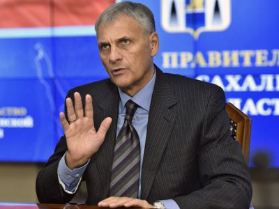 Губернатор Сахалина Хорошавин