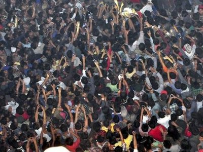 В Индии задержали 42 подозреваемых в линчевании насильника