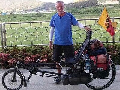 """Осужден водитель """"Газели"""", задавивший велосипедиста из США, объехавшего 60 стран"""