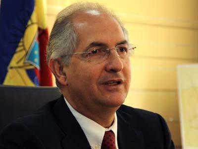 Мэру Каракаса предъявили обвинения в подготовке госпереворота