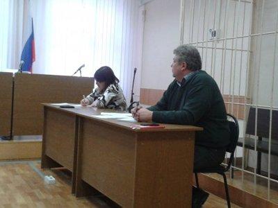 Валентина Эсаулова в зале судебных заседаний