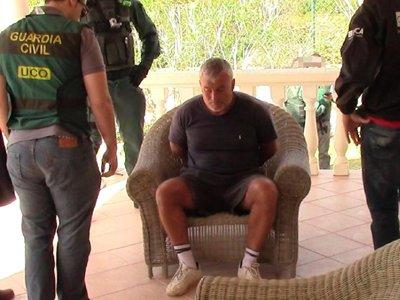 Испанская полиция арестовала одного из самых разыскиваемых британских преступников