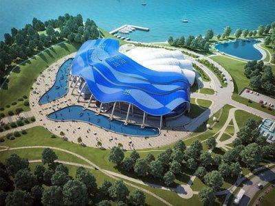 Приморский океанариум - проект