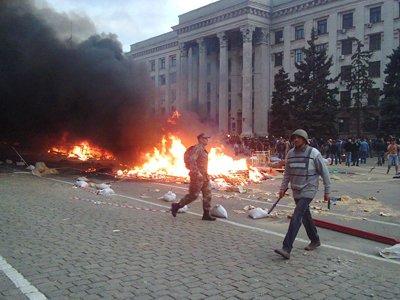 По делу о пожаре в Доме профсоюзов перед судом предстанет экс-глава ГУМВД Одессы