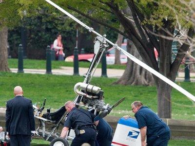 В США почтальону, приземлившемуся на автожире перед зданием Капитолия, грозит 9,5 лет тюрьмы