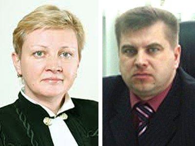 Судья АСГМ Елена Золотова и зампред суда ХМАО – Югры Игорь Юрьев