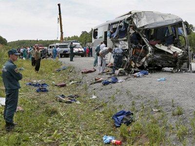 Возбуждено дело по факту ДТП с автобусом, где погибли 11 человек и 43 пострадали