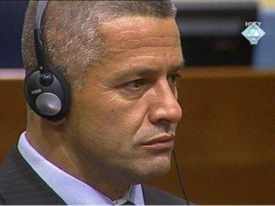 Бывший командующмй мусульманскими формированиями в Сребренице во время боснийской войны (1992-1995) Насер Орич