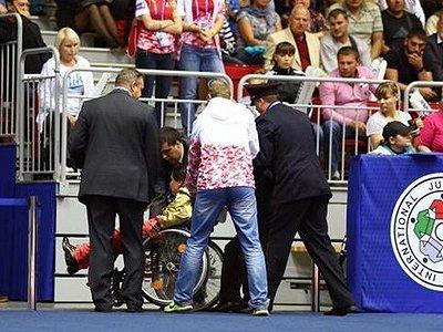 Динара Мухатдинова на чемпионате мира по дзюдо в Челябинске