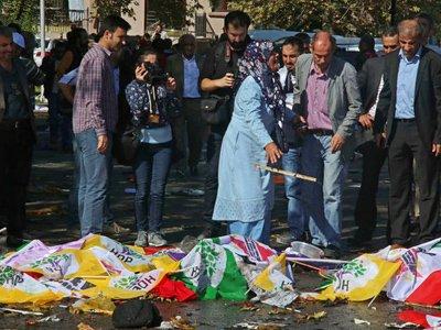 Турецкие следователи выдвинули основную версию теракта в Анкаре