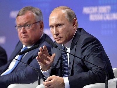Путин заявил о планах демонополизации железнодорожных перевозок