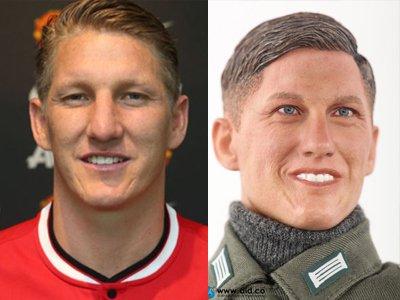 Немецкий футболист подал в суд из-за солдатика-нациста с его лицом