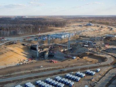 Место строительства космодрома «Восточный»