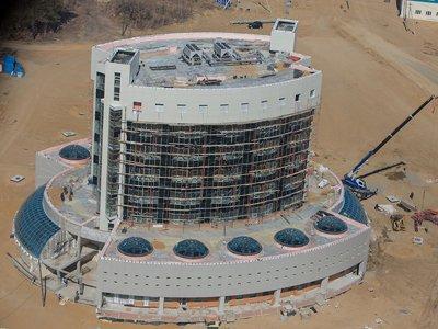 Строительство объектов космодрома